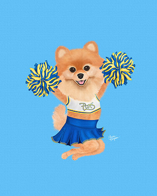 Cheerleading Pomeranian
