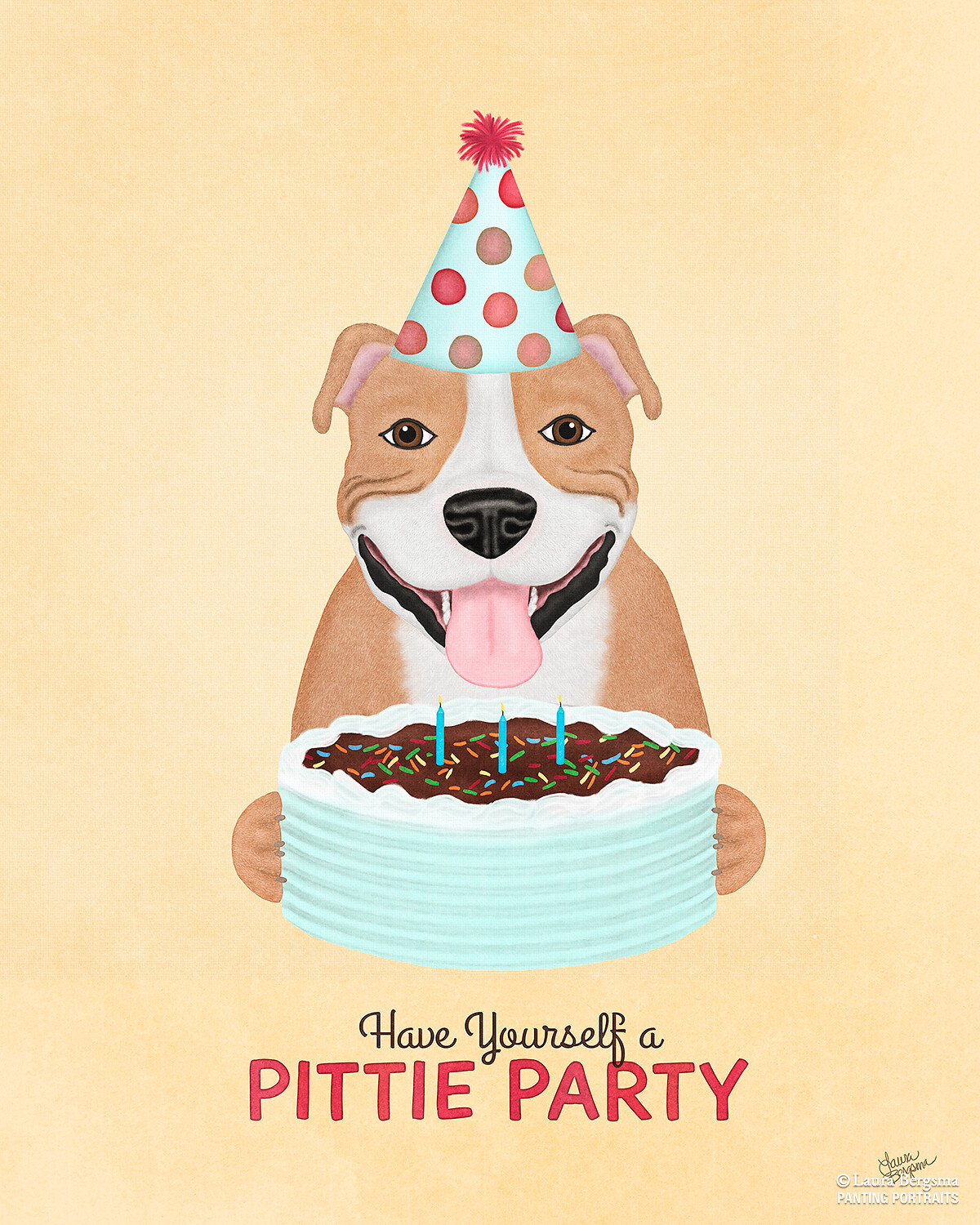Pit Bull's 3rd Birthday - It's a Pittie Party!